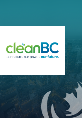 "CleanBC Plan. Energy efficiency is key to ""making life better"""
