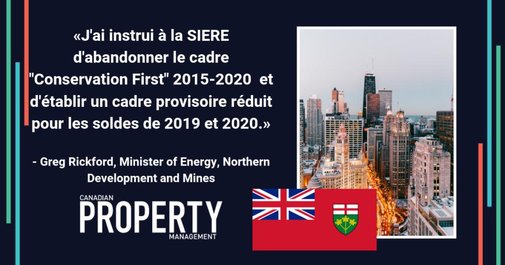 L'Ontario redirige la prestation du programme de conservation et de gestion de la demande (CGD)
