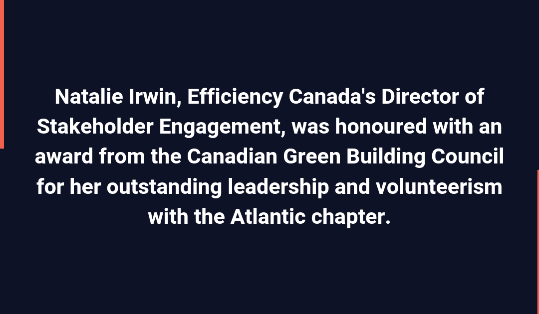 CaGBC announces 2019 green building award winners