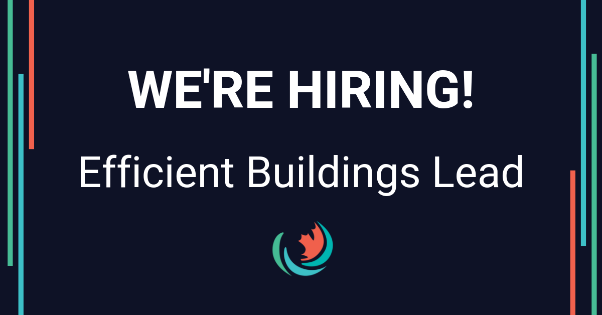 Now Hiring: Efficient Buildings Lead