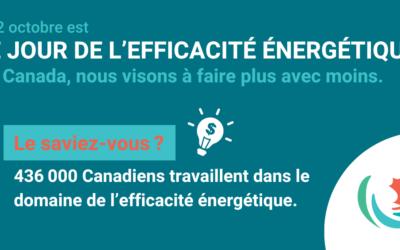 Canadiens célèbrent le Jour de l'efficacité énergétique
