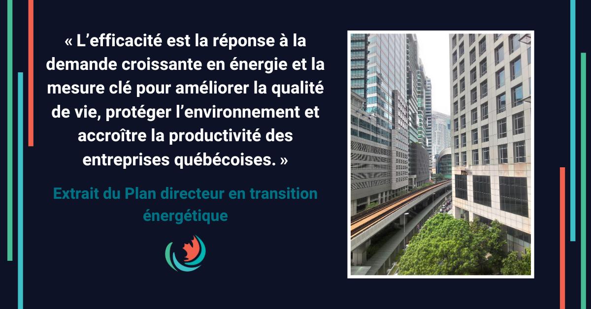 Québec renforce son indépendance énergétique