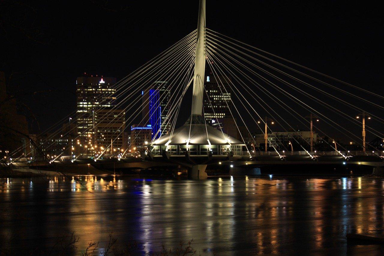 La nuit à Winnipeg