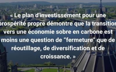 Parlement appelé à adopter un plan d'investissement