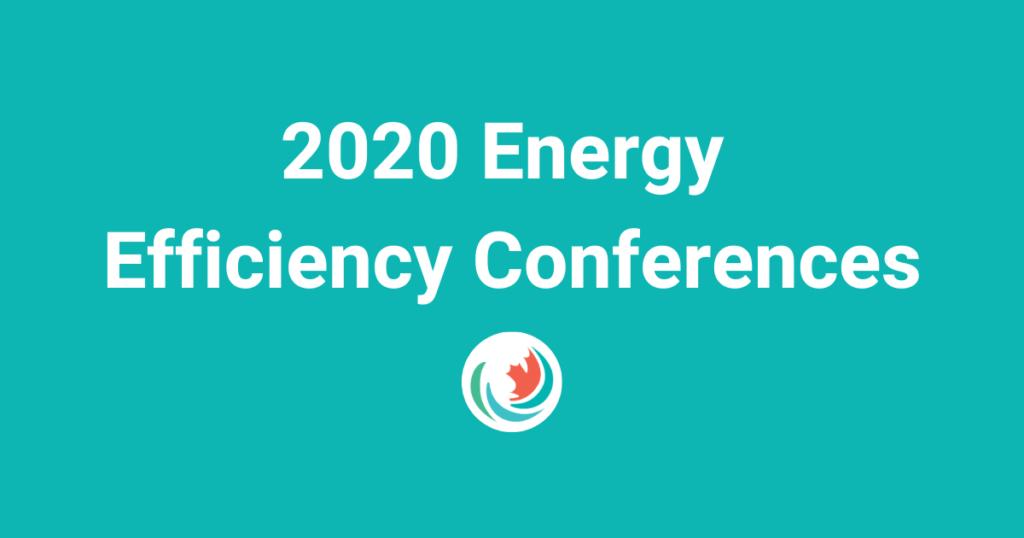 2020 Energy Efficiency Conferences