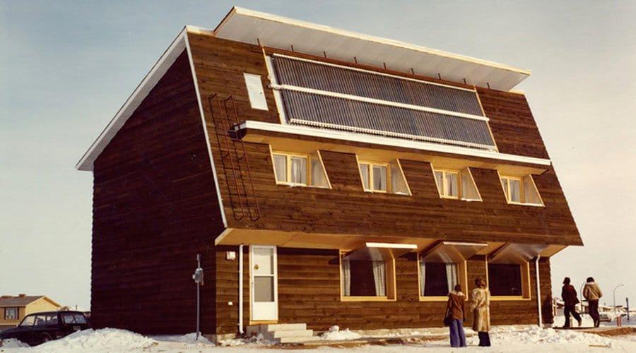 Maison de conservation Saskatchewan
