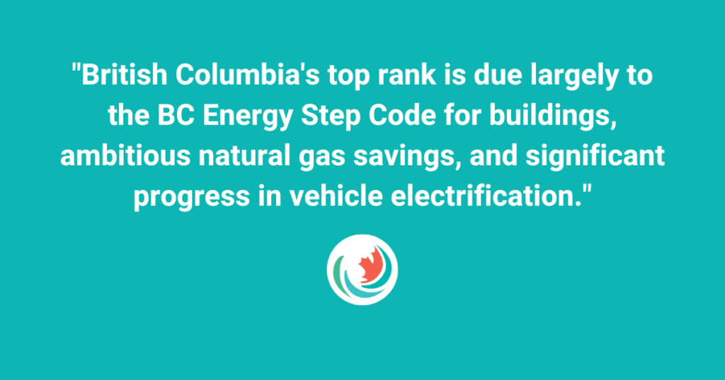 Electrical Line Magazine: British Columbia ranks first in Canadian Provincial Energy Efficiency Scorecard