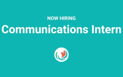 Now Hiring: Communications Intern