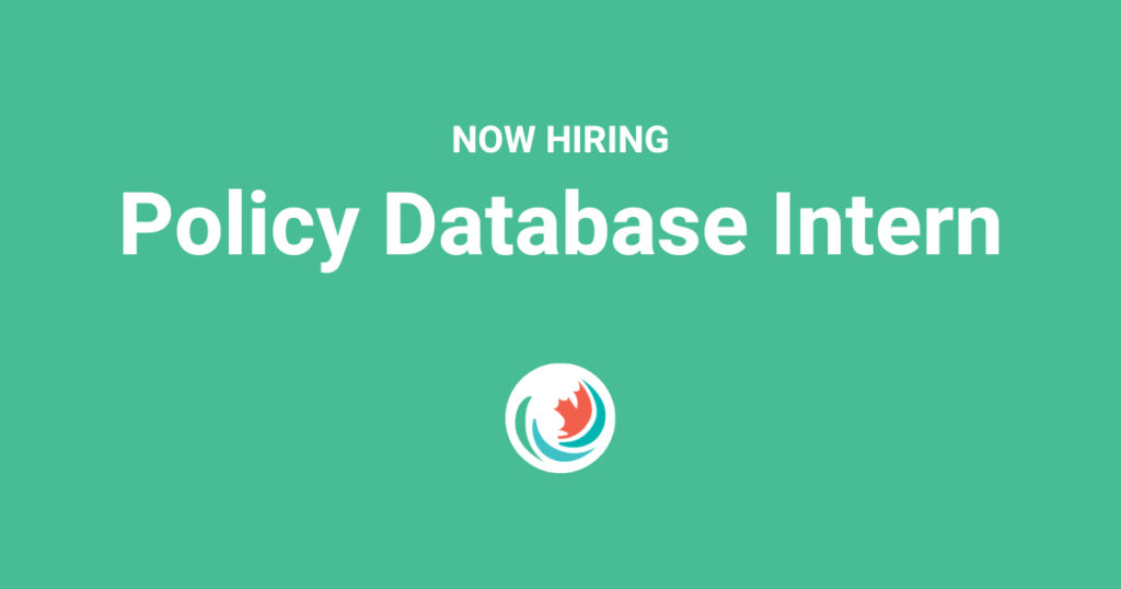 Now Hiring: Policy Database Intern