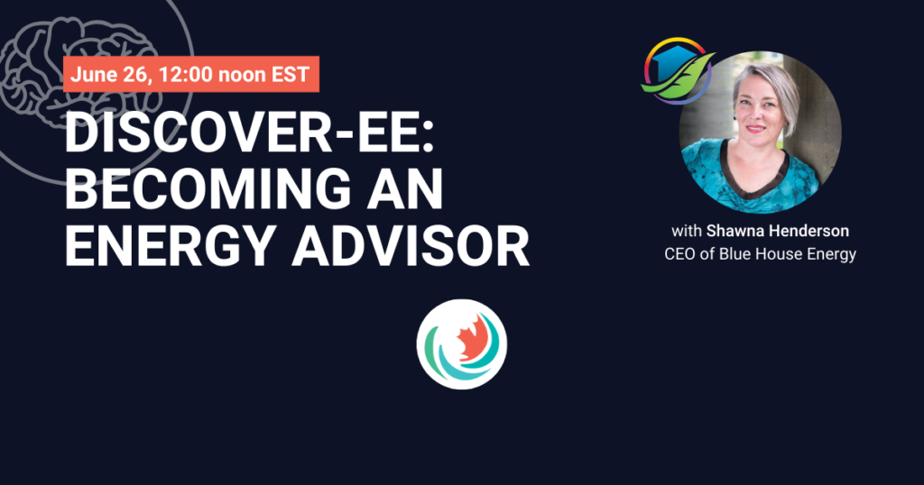 Becoming an Energy Advisor