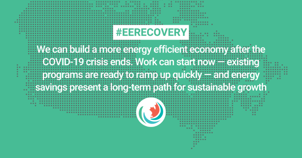 An energy efficient economic recovery in three steps
