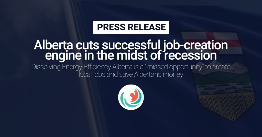 Alberta cuts successful job-creation engine in the midst of recession