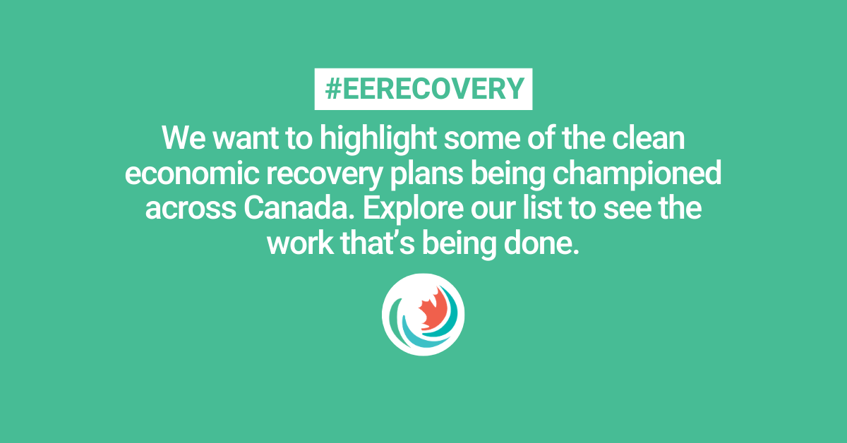Celebrating Canada's champions for an energy efficient recovery