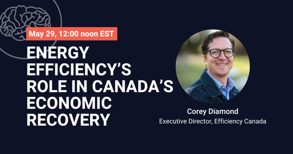 Energy efficiency's role in Canada's economic recovery