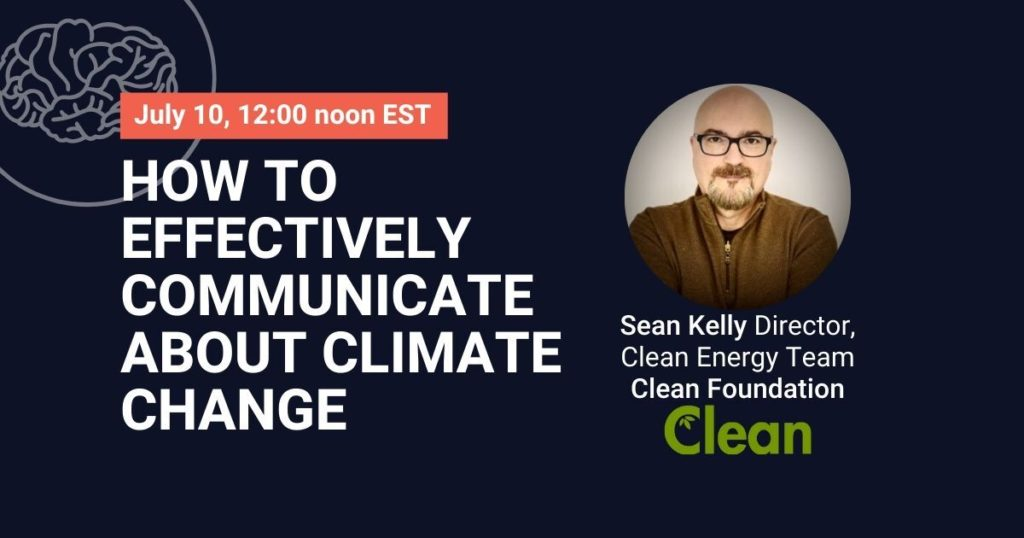 How to effectively communicate about climate change