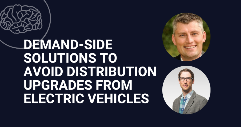 Demand-side solutions to avoid distribution upgrades from electric vehicles