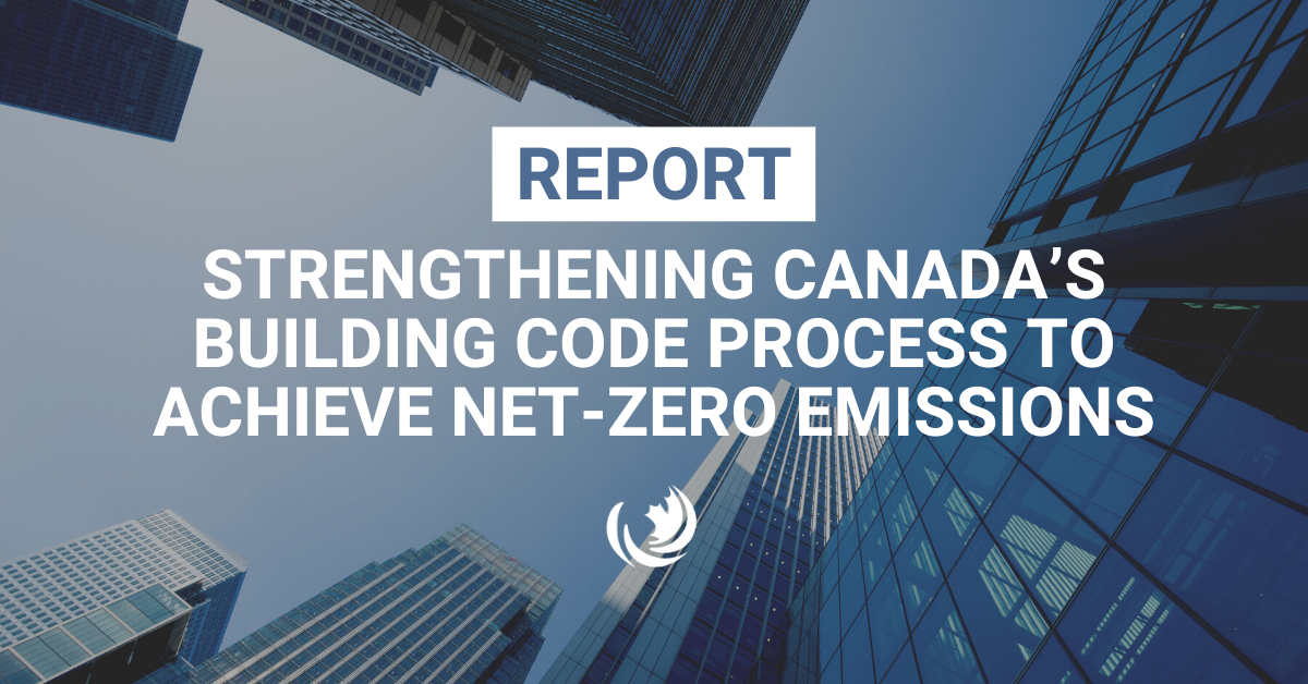 Strengthening Canada's Building Code Process