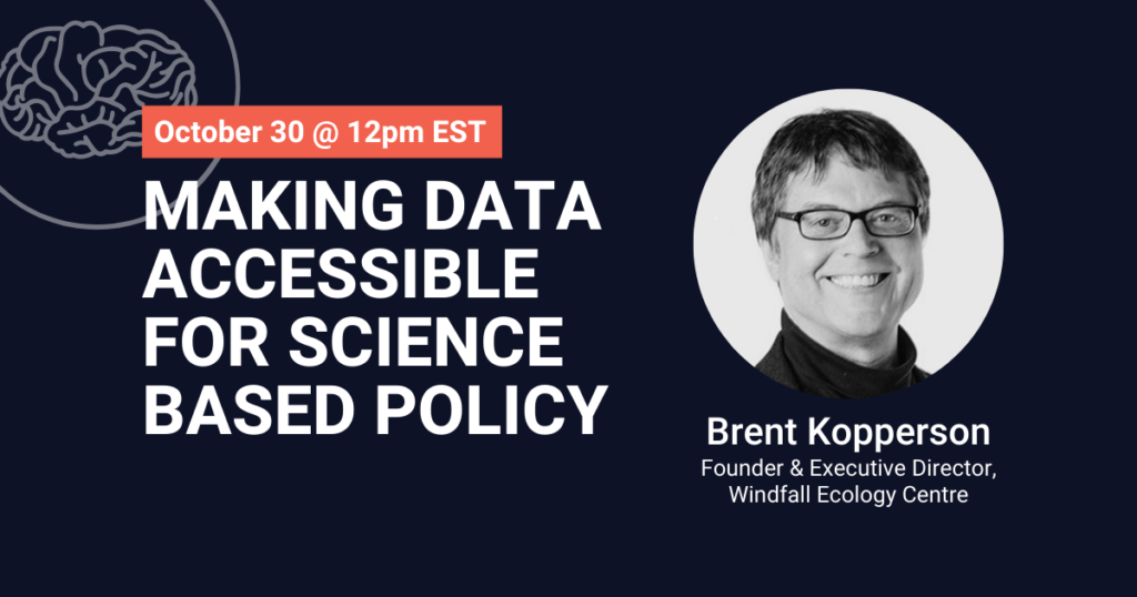 Making Data Accessible for Science-Based Policy