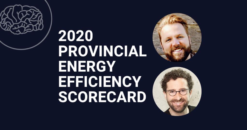 2020 Provincial Energy Efficiency Scorecard