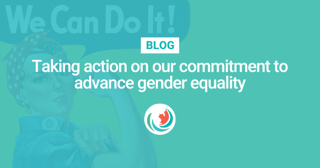 Taking action on our commitment to advance gender equality