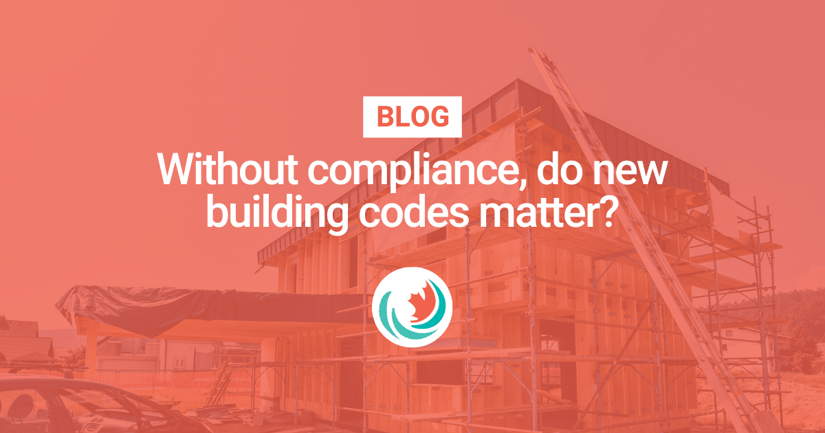 Without compliance, do new building codes matter?