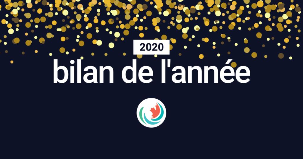 2020 bilan de l'année