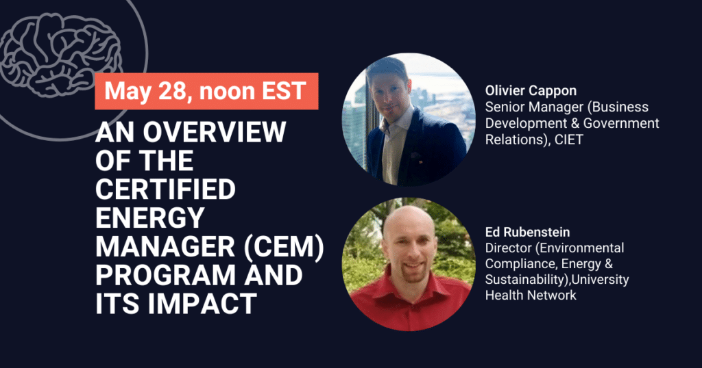 An overview of the Certified Energy Manager (CEM) program and its impact