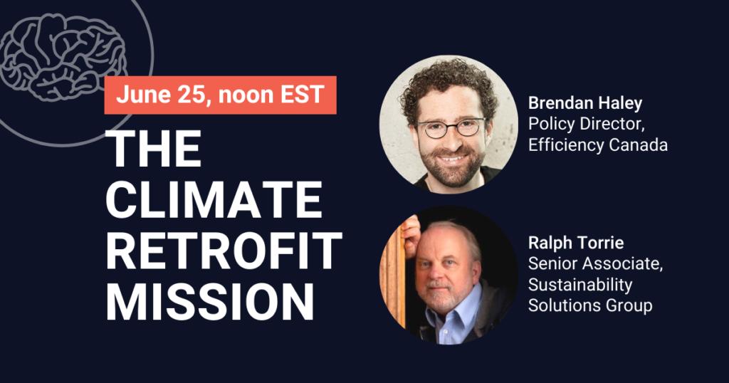 The Climate Retrofit Mission