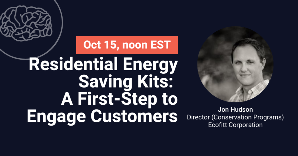 Residential Energy Saving Kits: A First-Step to Engage Customers