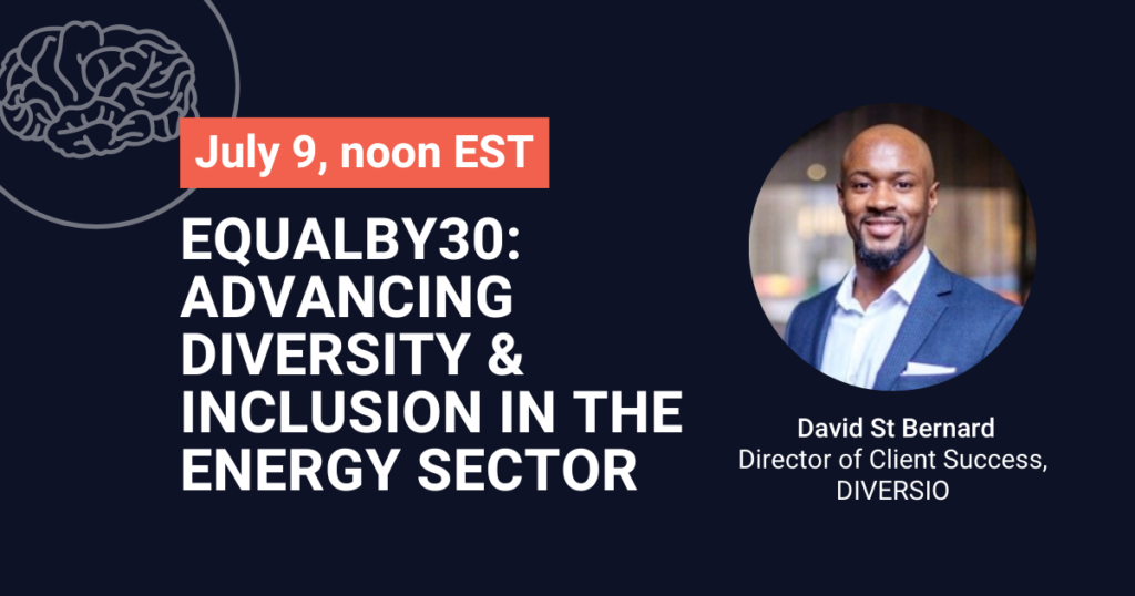 Equalby30 Advancing Diversity & Inclusion in the Energy Sector