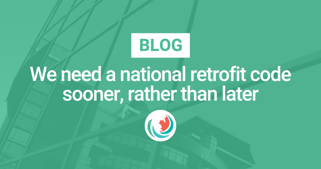We need a national retrofit code sooner, rather than later