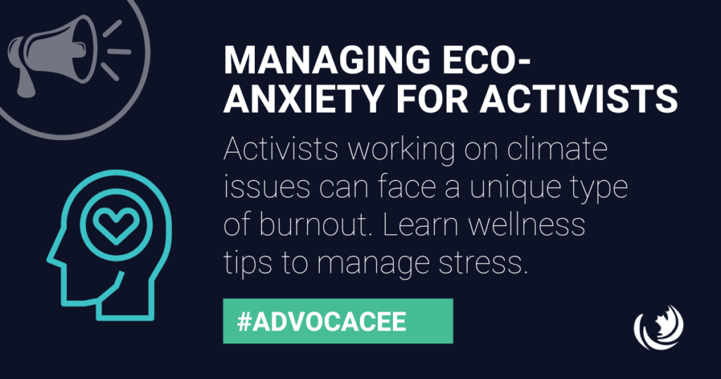 Managing eco-anxiety